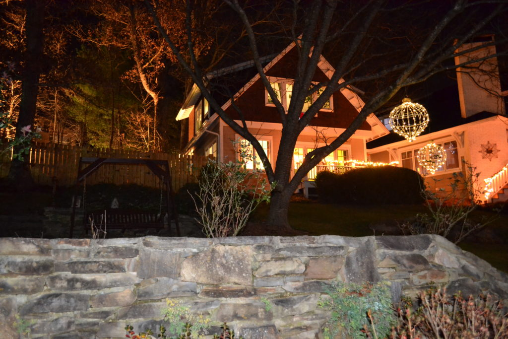 Christmas at Arbor House Black Mountain B&B